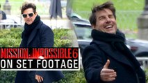 Tom Cruise Shooting For Mission Impossible 6 In Paris | 'Mission Impossible 6 : Gemini' ON SET FOOTAGE