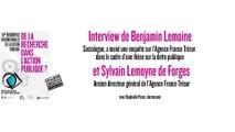 RIGP 2017 : interviews du sociologue B. Lemoine et de l'ancien directeur de l'AFT S. L. de Forges