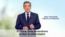 Une volonté pour la France | Clip de François Fillon