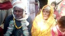 90 سال کے بابے کی 95 سال کی عورت سے شادی کی ویڈیو