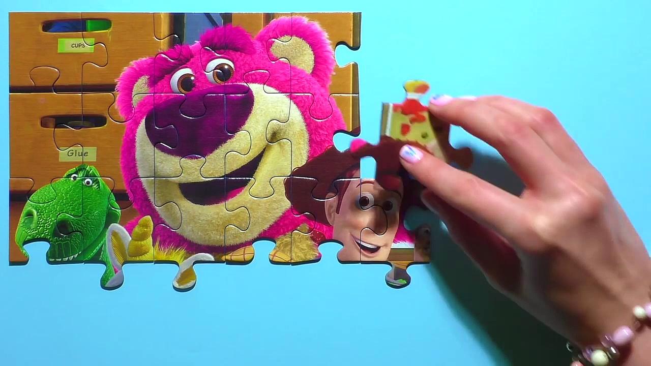 Learn Puzzle TOY STORY Potato Head,asd