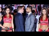 Canelo Alvarez vs. Amir Khan Full Video-Complete Los Angeles Press conference & face off video