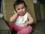 Cute Baby Talking on Mobile || Can't Stop Laughing || Must Watch
