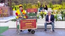 A Praça É Nossa (28/07/16) Gordilma vende hot dog na praça