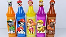 PATRULHA CANINA PAW PATROL LEARN COLORS CRAYONS TOYS SURPRISE EGGS LEARNING COLORS VIDEO FOR CHE