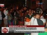 24 Oras: Daan-daang pasahero, 'di nakabiyahe dahil sa halos 6 na oras na brownout sa NAIA-3