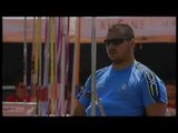 Athletics - Manolis Stefanoudakis - men's javelin throw F54/55/56 final - 2013 IPC Athletics...