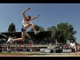 Athletics - Denis Gulin - men's triple jump T11 final - 2013 IPCAthletics World C...