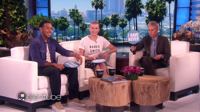 Chelsea Handler and Ludacris Play 'Never Have I Ever'