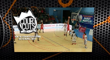 Top 10 CourtCuts FFBB du 8 Avril 2017