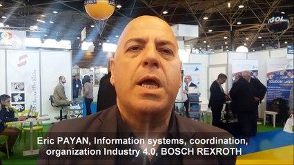 Industrie du futur : Eric PAYAN, Information systems, coordination, organization Industry 4.0, BOSCH REXROTH