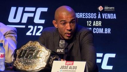 José Aldo fala sobre aposentadoria do UFC