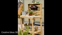 40 Creative DIY Pallet Furniture Ideas 2017 - Cheap Recycled Pallet - Chair Bed Table Sofa Part.8-v7Nz