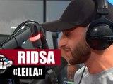 """Ridsa """"Leila"""" en live #PlanèteRap"""