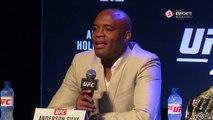 Anderson Silva fala sobre luta contra Vitor Belfort