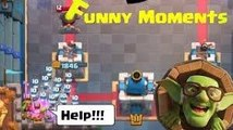 Funny Moments & Glitches & Fails & Wins  Clash Royale Montage #1