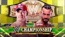 WWE JOHN CENA VS CM PUNK MONEY IN THE BANK 2011 LOQUENDO