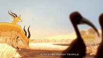"2D Animated Short Film ""ADUMU"" Inspirational Animation by Adam Temple & Sheridan http://BestDramaTv.Net"