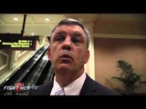 """Teddy Atlas """"Cotto is going to take advantage of Canelo's cement feet!"""""""