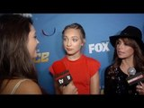 Maddie Ziegler, Paula Abdul  Interview SYTYCD: The Next Generation Top 4 Live Show Competition