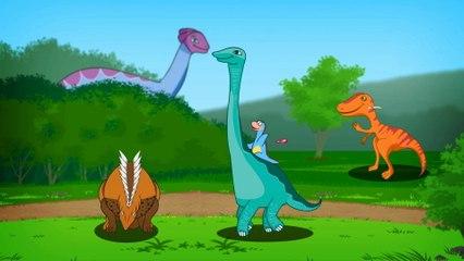 Dinozaury Z Juraparku - Dinozaury Sa Wsrod Nas
