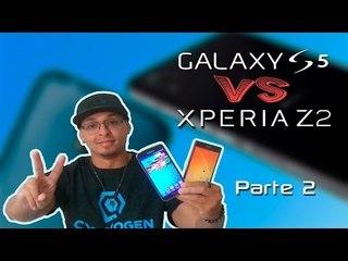 Samsung Galaxy S5 vs Sony Xperia Z2 (Comparativo) PARTE 2