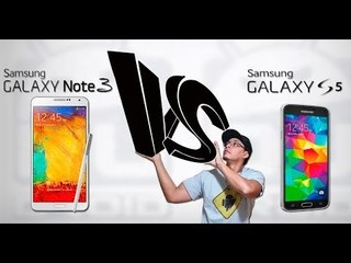 Galaxy Note 3 VS Galaxy S5. Qual o melhor? qual comprar?