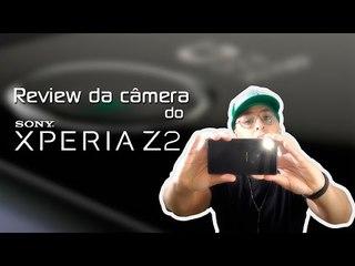 Review da câmera do Sony Xperia Z2