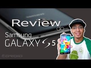 Review do Samsung Galaxy S5 (em português)