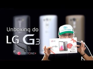 Unboxing do LG G3 (Português) -D855P