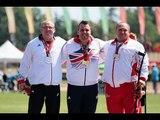 Athletics -  men's shot put F42 Medal Ceremony  - 2013 IPC Athletics World Championships, Lyon