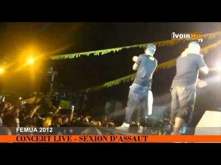 SEXION D'ASSAUT ENFLAMME LE FEMUA 2012
