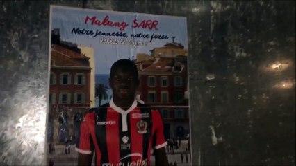 Les affiches des candidats à la présidentielle remplacées par des photos des joueurs de l'OGC Nice