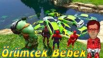 Örümcek Bebek Yaramazlık Yapıyor Örümcek Adam Şimşek McQueen Komik Maceralar Çizgi Film İzle