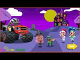 Nick Jr  Halloween House Party  Blaze  Bubble Guppies  Dora and Friends  Paw Patrol  New Game