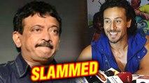 Tiger Shroff SLAMS Ram Gopal Varma On His 'Transgender' Remarks   Tiger Shroff RGV FIGHT