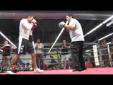 Humberto Soto vs. Antonio Orozco full video-Complete Soto media workout video