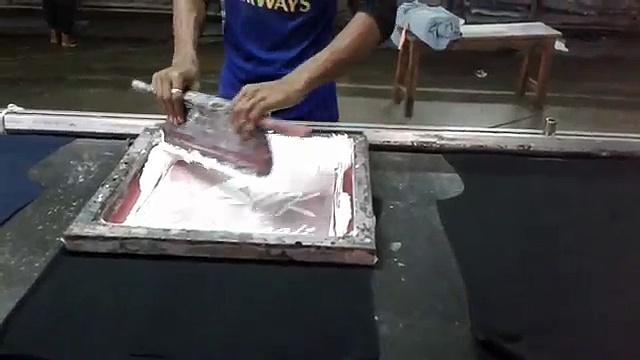 How we print our T-Shirt | CottonKraft.com