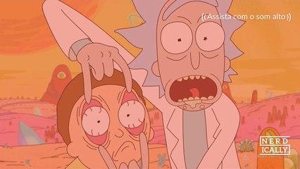 Qual o segredo de Rick e Morty ser tão legal?
