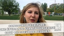 Concours d'écriture: Une étudiante strasbourgeoise,  coup de cœur de Thomas Pesquet