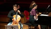 Camille Saint-Saëns : Sonate pour violoncelle et piano n° 1 en ut mineur op. 32 Allegro par le Duo Urba