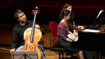 Saint-Saëns : Sonate pour violoncelle et piano n° 1 en ut mineur op. 32 II. Andante tranquillo e sostenuto par le duo Urba