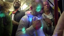 Boite de nuit sauvage dans le métro de Londres