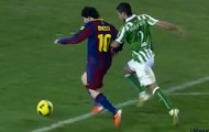 The Inventor of Goalkeeper Nutmegs ► Messi Nutmegging Goalkeepers HD