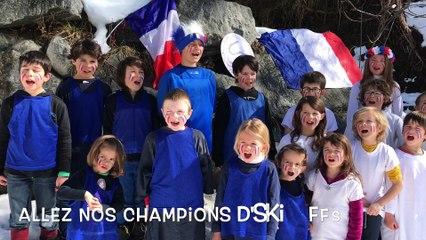 Chanson pour nos skieurs - Saint François Longchamp