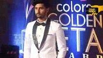 Jamai Raja - Ravi Dubey At Colors Golden Petal Awards 2017