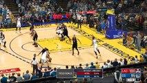NBA 2K17 Stephen Curry,Kevin Durant & Klay dsaThompson Highlights vs Clip