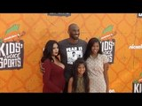 Kobe Bryant, Vanessa Bryant Kids' Choice Sports 2016 Orange Carpet