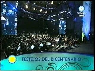 PATRICIA BARONE con ORQUESTA SINFONICA NACIONAL  - Festejos del  BICENTENARIO