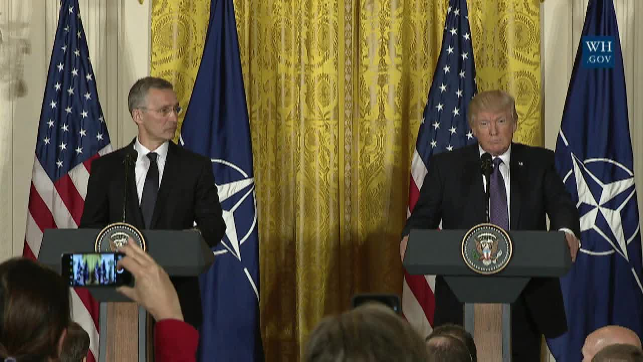 President Trump Declares His New Commitment To NATO